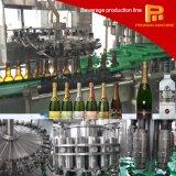 3 automáticos em 1 linha de produção de engarrafamento do vinho