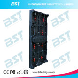 P3.91 P4.81 P5.95 P6.25 definición de la etapa LED de 500 x de 1000m m alta de la pantalla video de alquiler al aire libre de la pared