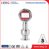 Sensor de nivel de diafragma con conexión de proceso higiénico