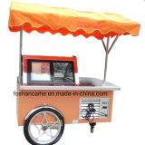 セリウムはアイスクリームのGelatoの販売の表示カートを承認した