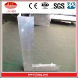 CNC制御品質の溶接されたくねりのアルミニウム建物の壁の正面