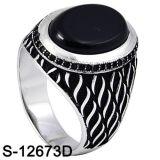 남자를 위한 고전적인 디자인 형식 보석 반지