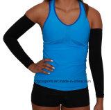 Luva protetora personalizada venda por atacado do braço de Lycra da compressão