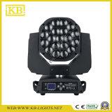 19PCS*15W LED 이동하는 맨 위 광속 단계 점화
