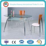 таблица офиса таблицы 10mm стеклянная (tempered ясное стекло поплавка)