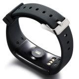 D21 Monitor de ritmo cardíaco Pulsera inteligente Reloj de alarma de natación Contador de pasos Llamar mensaje de recordatorio Smartband para iOS y teléfono Android