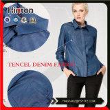 ワイシャツおよび女性Fashion Dressのための高品質のTencelのデニムファブリック