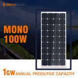 Morege Monosolar (Zellen) Panel 100W für Energie-System