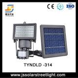 10W iluminação psta solar ao ar livre da inundação do diodo emissor de luz do IP 65