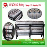 Bateria de armazenamento alcalina recarregável Ni-CD 1.2V100ah para o sistema 110V