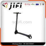 Scooter de équilibrage électrique de couleur de carbone de scooter sans fil blanc noir de fibre