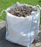 Grande sacchetto per sporcizia e la pietra