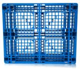 1200*1200*150mm HDPE Plastic de 4-manier van het Net van het Dienblad Sigle Onder ogen gezien Plastic Pallet Dynamische 1t voor de Producten van de Opslag van het Pakhuis (zg-1212)