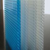 Прозрачным UV-Защищенный толем лист парника поликарбоната сота