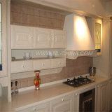 Qualitäts-festes Holz-moderner Küche-Schrank