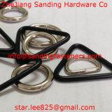 Anello del triangolo saldato Palted del nichel del acciaio al carbonio