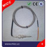 Micc het Prima Industriële Flexibele Thermokoppel van de Bajonet met Met veerwerking