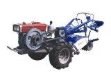 多機能2WDディーゼル手のトラクターの農場トラクターの農業のトラクターのディーゼル歩くトラクター12HP Df121