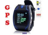 La mini montre-bracelet GPS101 de GPS pour le sureau/enfants, voie duelle Communciate protègent le bouton de la sûreté SOS de propriété pour l'aide Emergency