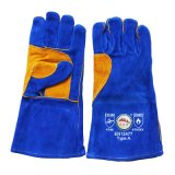 Cowhide Split Leather laboratory Welders Working Gloves