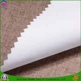 Tissu enduit imperméable à l'eau tissé par textile de rideau en guichet d'arrêt total de franc pour le rideau prêt à l'emploi