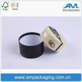 El tubo de empaquetado del regalo de papel rígido redondo anunció la venta al por mayor cilíndrica del rectángulo