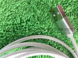 High-End het Laden USB van de Legering van het Aluminium van de Atmosfeer Duurzame Nylon Gevlechte Kabel voor iPhone5S 6s
