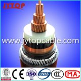 3.6/6kv中型の電圧単心の銅XLPEの絶縁体の電源コード