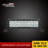 """10.5 do """" barras claras 12V do diodo emissor de luz do carro 54W Offroad caminhão para o jipe"""