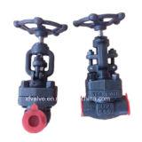 API602 800lb a modifié le robinet d'arrêt sphérique en acier de l'extrémité d'amorçage A105 TNP