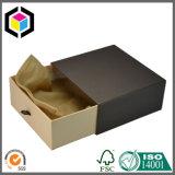 Goldfirmenzeichen-Schwarz-Papier-Geschenk-Schmucksache-verpackenkasten