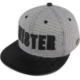 急な回復のスポーツのHip Hopの平らなバイザーの帽子