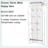 Стеллаж для выставки товаров CS-M004 металла гастрономов