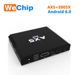 Ax5 Amlogic S905X 1GB 8GB 인조 인간 6.0 텔레비젼 상자
