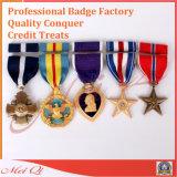 Medaglia su ordinazione del premio di onore di alta qualità con i nastri