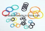 EPDM, FKM, borracha de silicone, amarelo, verde, marrom, O-Rings pretos