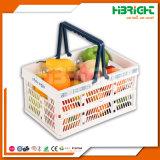 Casse pieghevoli di plastica della verdura e della frutta