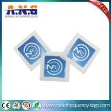 13.56MHz подгоняют ярлык Ntag 213 бирки печатание NFC