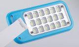 Lámpara de vector sin cuerda plegable recargable de la lámpara de escritorio del nuevo diseño LED