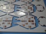 PWB bianco certificato UL Fr4 2layer in rotaie di cremagliera