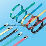 Anerkannte Ss304 Ss316 Stahl-Kabelbinder UL-