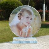 Materielle Medaille des Kristallglas-K9 für Andenken Ks25046