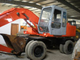 Machines d'excavatrice de roue de Hitachi utilisées par excavatrice de roue de Hitachi Ex100wd à vendre
