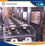 Linea di produzione automatica dell'acqua di imbottigliamento del barilotto per 5 galloni