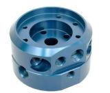 As peças da liga de alumínio da elevada precisão, aço inoxidável parte (CNC que faz à máquina, perfurando, mmoendo, mmoendo, girando, pintar, lustrando)