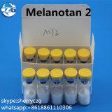 Hormonas Melanotan II Melanotan 2 del péptido de la piel que broncean Mt2