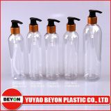 bottiglia di plastica rotonda dell'animale domestico 275ml con lo spruzzatore della pompa (ZY01-B032)