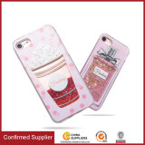 Produit neuf Flacon fluide Flasque étincelant Soft Phone Case