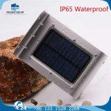 세륨 RoHS 표준 4V 태양 전지판 언급 센서 태양 정원 벽 LED 램프
