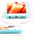 1.8mm 단단한 사탕 설탕 색깔 iPhone5/6/7를 위한 연약한 TPU 전화 상자